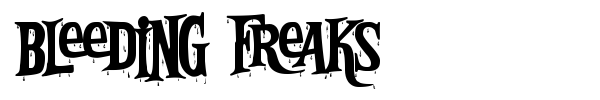 Bleeding Freaks fuente