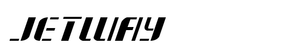 Jetway font preview