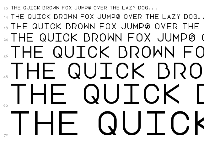 Lotte Paperfang font waterfall