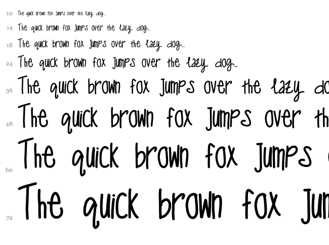 One man wolf pack font waterfall