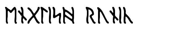 English Runic fuente