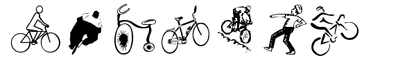 Cycling font preview