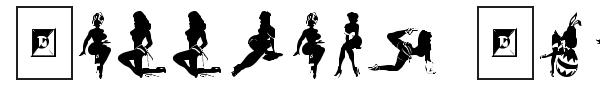 Darrians Sexy Silhouettes fuente