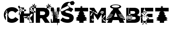 Christmabet font preview